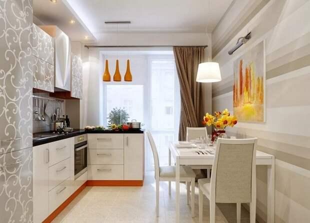 20 рабочих идей дизайна кухни с балконом