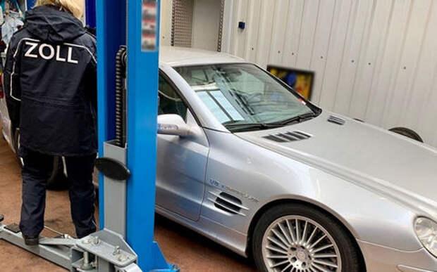 Афера года: русские контрабандой ввозили в Германию элитные авто!