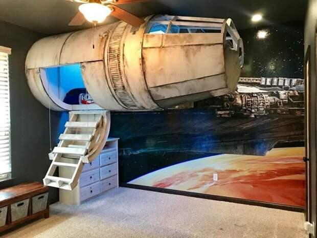 Космический корабль для сына