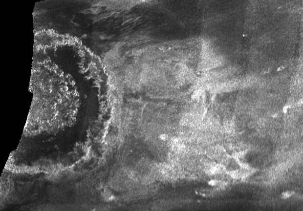 Учёные обнаружили, что в кратере на Титане могла зародиться жизнь