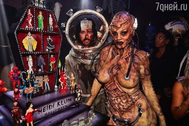 Хайди Клум поразила фанатов образом на Хэллоуин