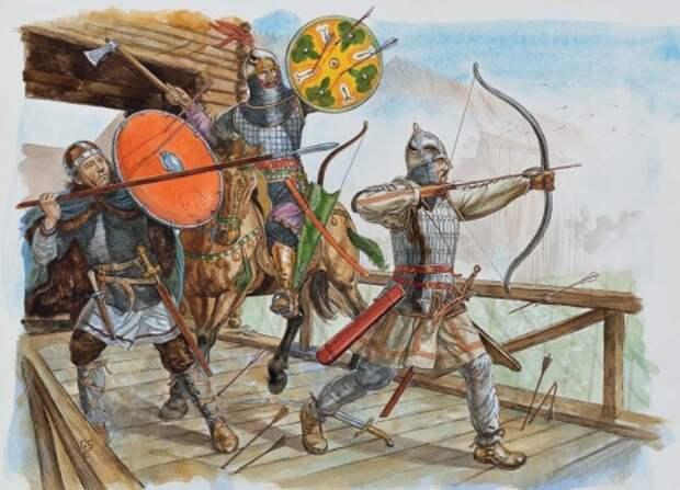 Булгары и их союзники, 11-12 века