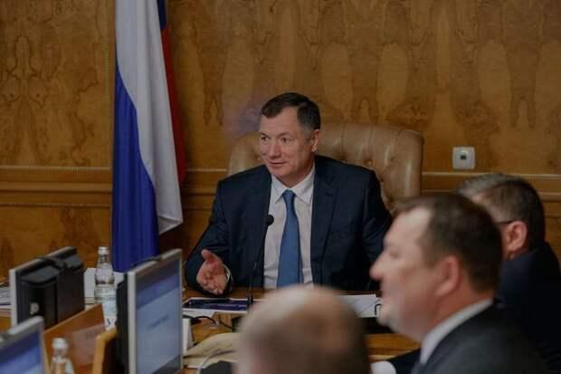 Хуснуллина похвалили за работу над медкластером в Севастополе