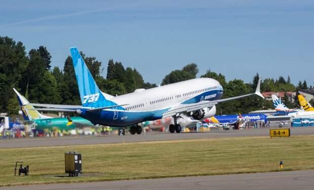 Новый Boeing 737 MAX 10 совершил первый полет после месяцев простоя