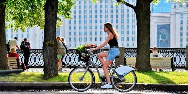 Станции велопроката в Савеловском увеличили время бесплатного пользования