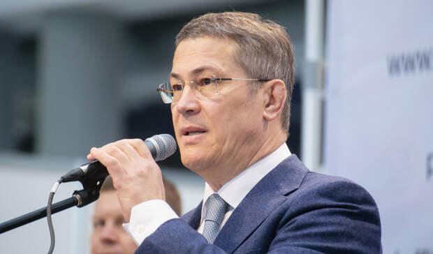 Радий Хабиров поручил правительству Башкирии подумать над задачами Путина