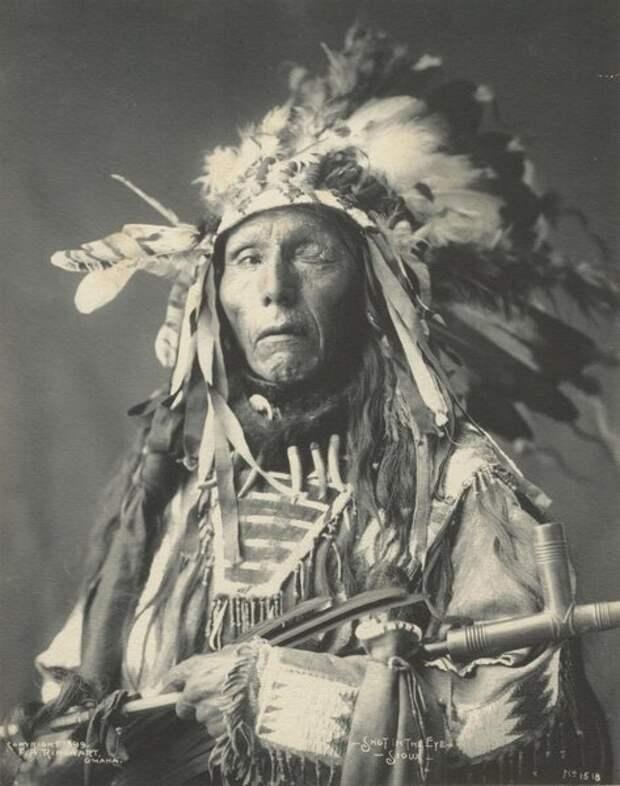 Индейские войны в бесценных фотографиях