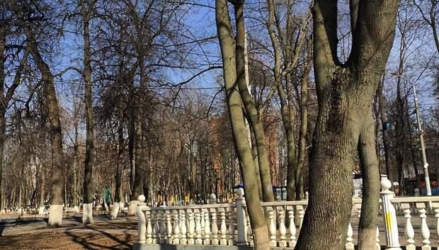Два парка в Подольске временно закрыли из‑за коронавируса