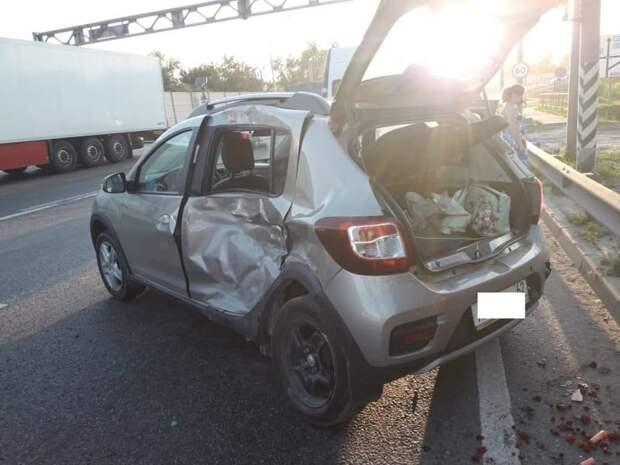 В ДТП на М5 в Рязани пострадала 75-летняя женщина