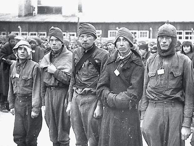Бой в Бухенвальде советского пленного Андрея Борзенко и чемпиона СС