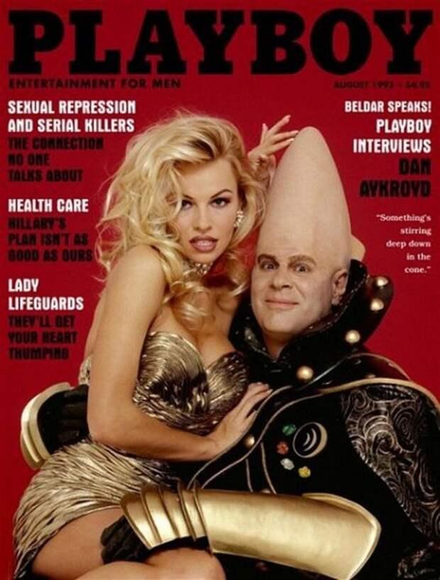Все обложки журнала Playboy с Памелой Андерсон