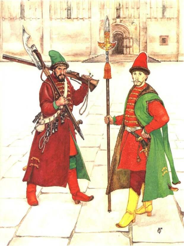 Московские стрельцы «Неприменные войска» русского государства XVII века
