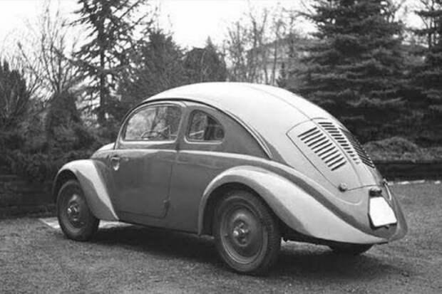 Почему Фольксваген перед Татрой расплачивался за «Жука», а Мерседес остался в сторонке tatra, авто, жук, мерседес, фольксваген