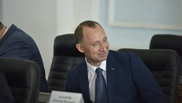 """Базаров стал """"заслуженным работником ЖКХ Севастополя»"""