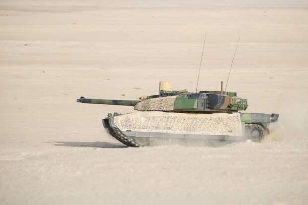 Состояние и перспективы танкового парка Франции