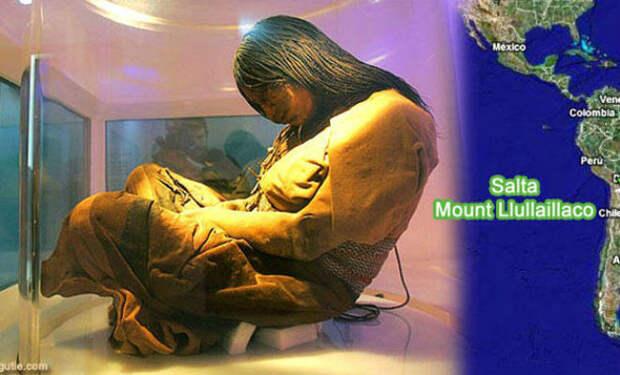Индианка возрастом 500 лет: находка ученых в леднике Анд