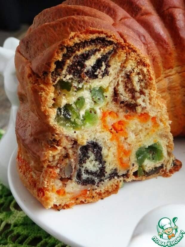 """Пирог """"Разноцветные кружева"""" - вот пирог , так пирог- просто загляденье!"""