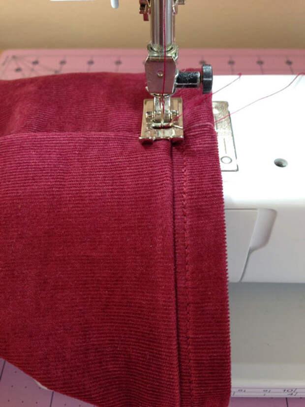 Как укоротить джинсы и сохранить фабричный шов