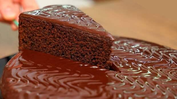 Проще уже некуда. Шоколадный торт на раз-два-три (ничего взбивать не нужно)