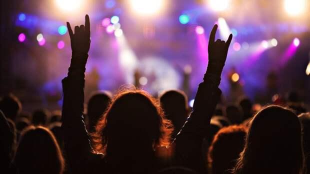 Рок - фестиваль пикса
