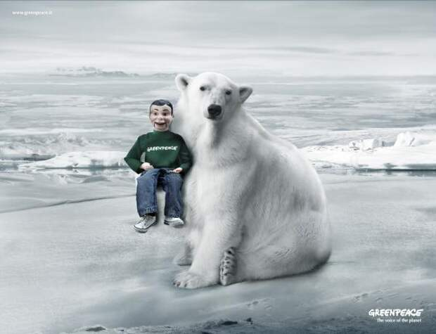 The voice of the planet, Greenpeace, In-house, Greenpeace International, Печатная реклама
