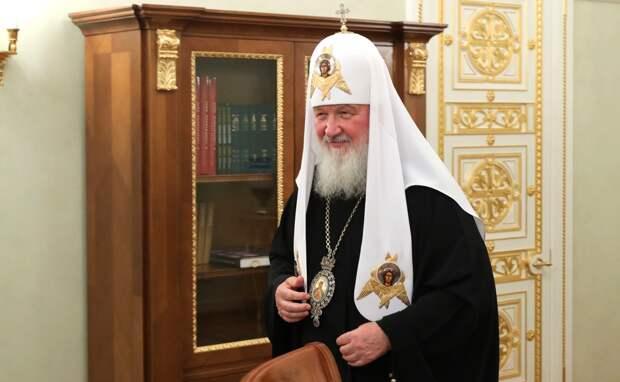 Патриарх Кирилл выступил с новогодним обращением к россиянам