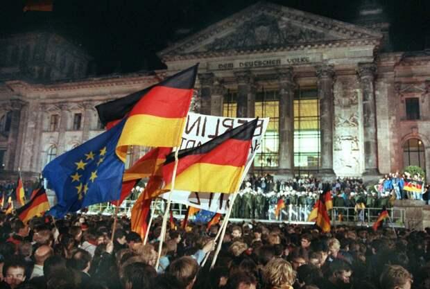 Превращение ФРГ в Германистан уже началось