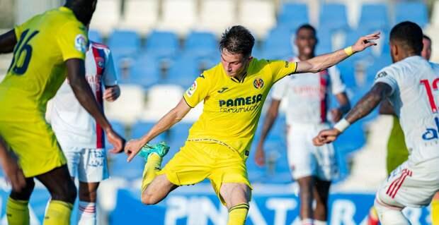Россиянин Иосифов дебютировал за «Вильярреал» в товарищеском матче с «Лионом»