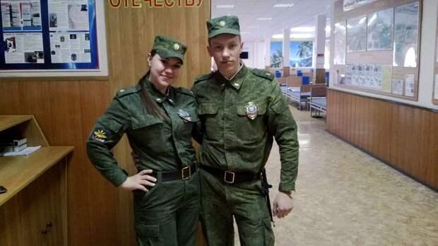 От тайги до британских морей ... : Лица девушек из Российской армии (41)