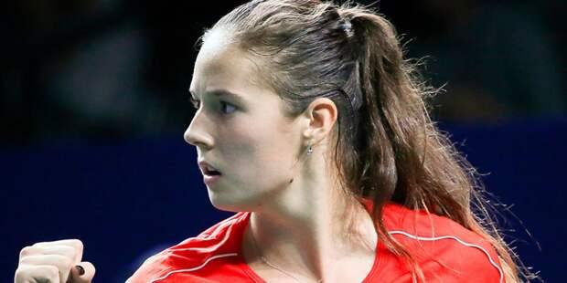 Российская теннисистка выиграла St. Petersburg Ladies Trophy