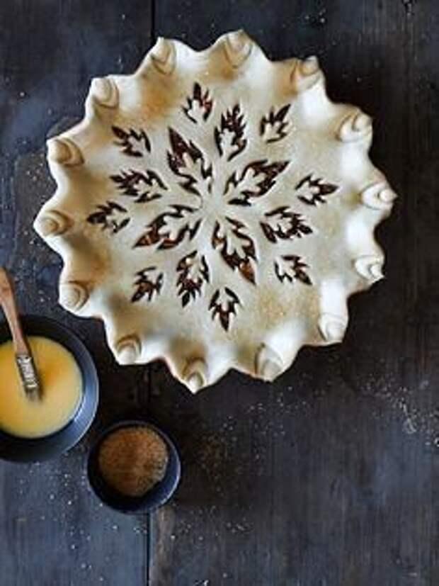 Как красиво оформить пирог 1