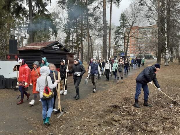 Ижевск присоединился к всероссийскому субботнику