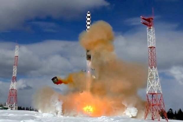 """Три запуска ракеты """"Сармат"""" планируется выполнить в 2021 году"""