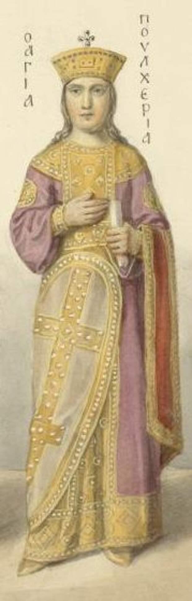 Императрица Пульхерия источник: wikipedia.org