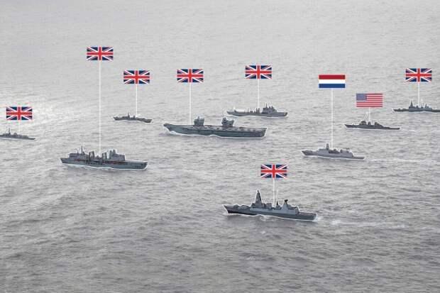 В сторону Крыма и базы ВМФ России в Сирии выдвинулась крупнейшая группировка кораблей НАТО с истребителями F-35