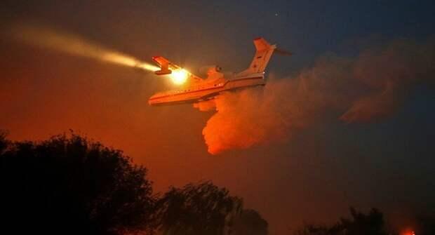Применение авиации в борьбе с лесными пожарами
