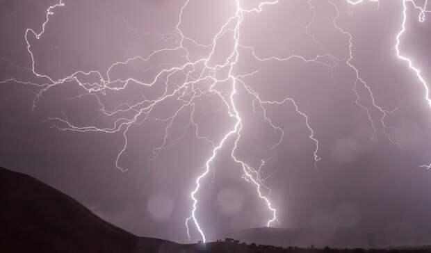 Дожди сгрозами ожидаются наСтаврополье всубботу