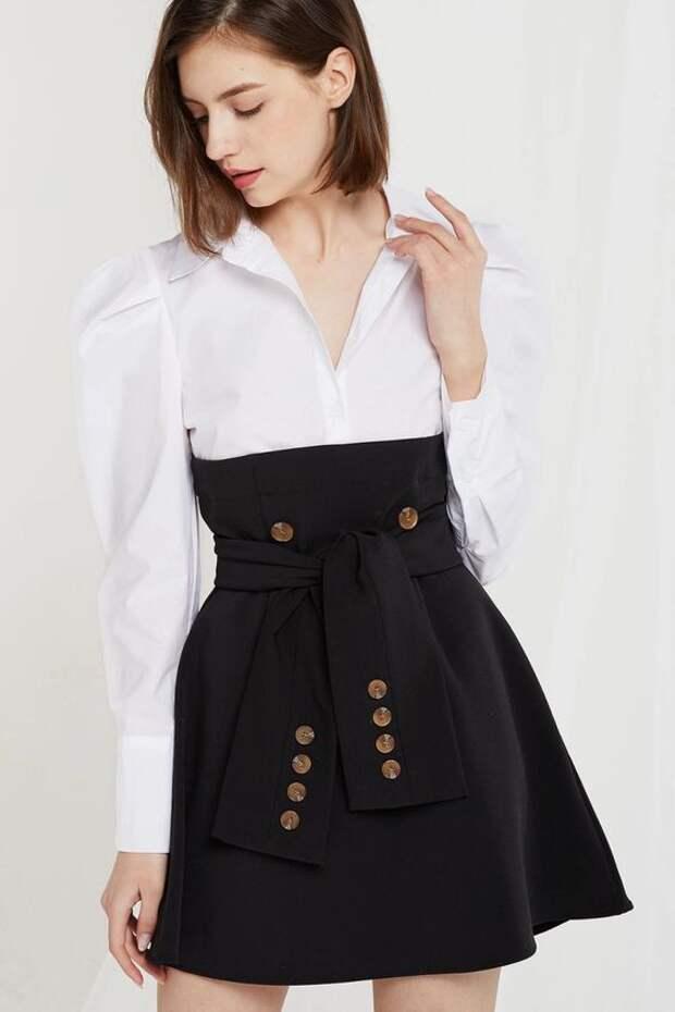 как сшить блузку или рубашку платье