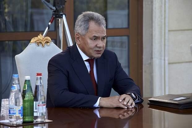 Шойгу и глава МО Таджикистана обсудили ситуацию в Афганистане
