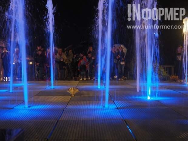 Уникальное шоу света и воды!