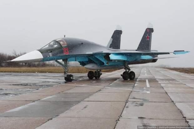 Су-34 и F-15E. Встреча неизбежна