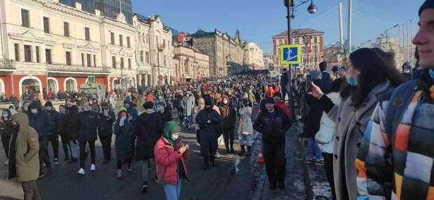 Сибирь и Дальний Восток: Больше всех Навального поддержали во Владивостоке и Иркутске