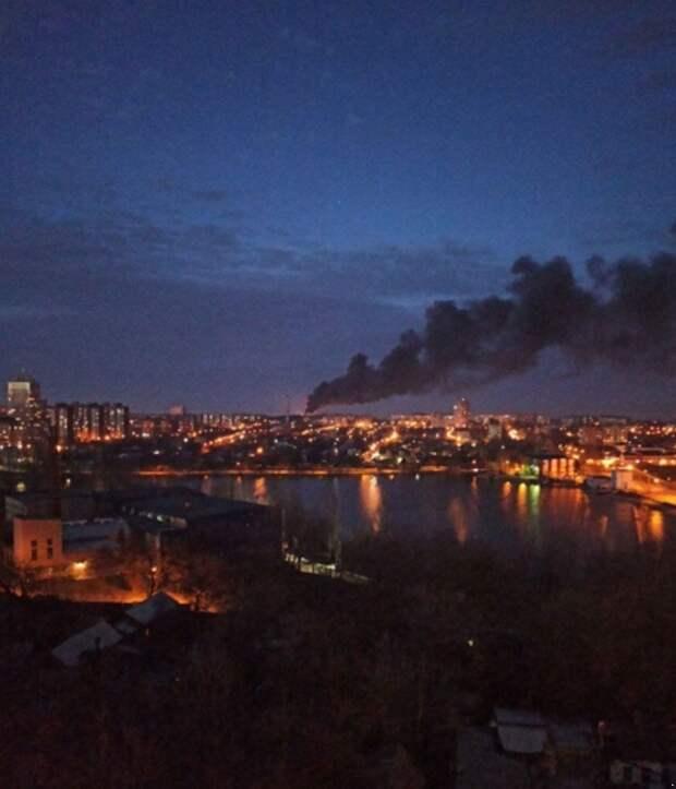 Пожар на Донецком мясокомбинате