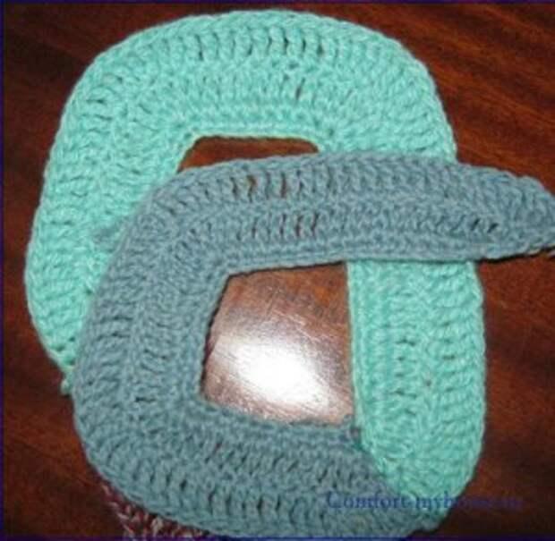 плетение коврика схема 2