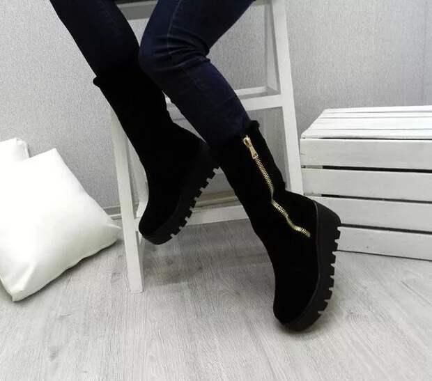 Зимняя обувь. Что актуально в настоящем сезоне?