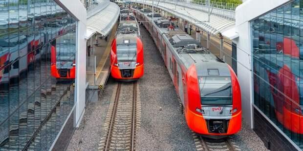 Почти на 25% увеличилось количество пассажиров на МЦД 15 июня