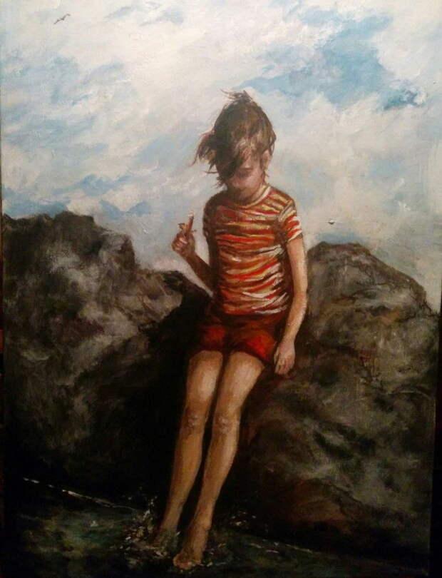 Британский художник. Alexandra Connor