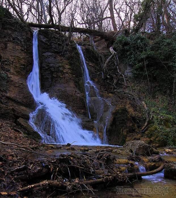 Водопады Крыма, гейзер