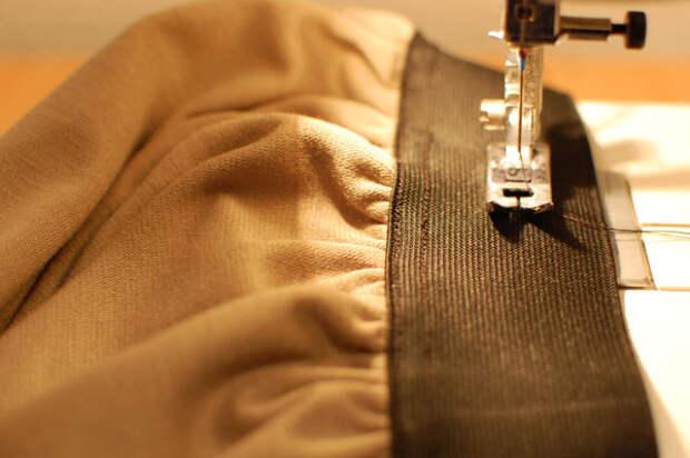coser a máquina elástico