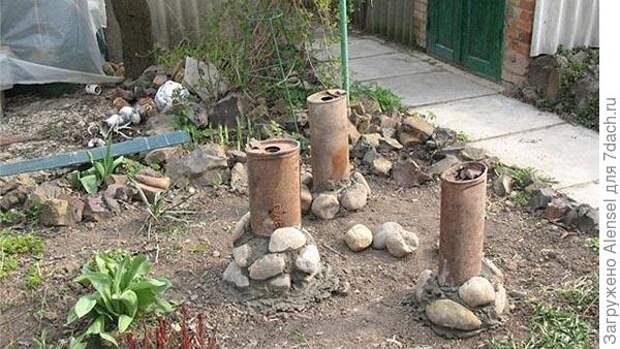 садовые фигуры замок